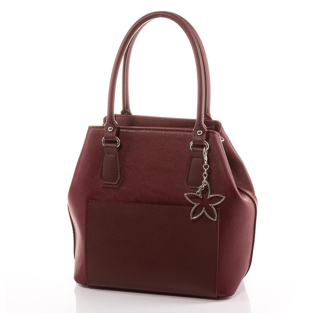 Дамска чанта Лилия 1542-23 - Бордо