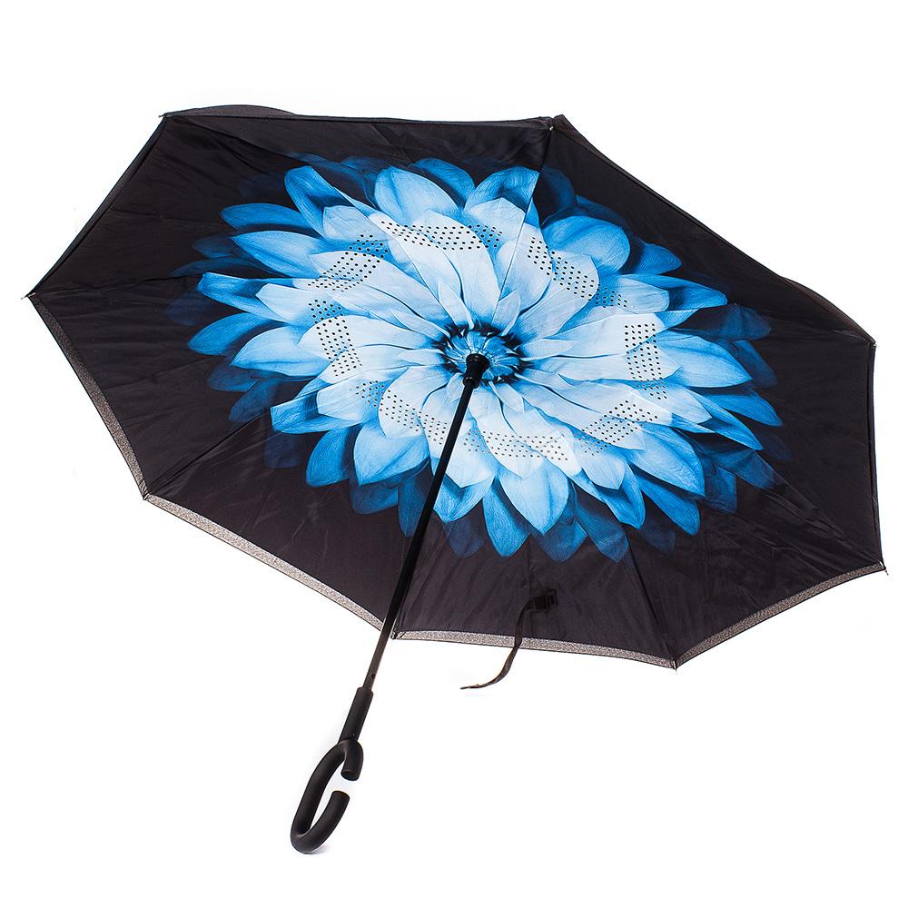 Обърнат дамски чадър, Двупластов U1001-00 - Цветен