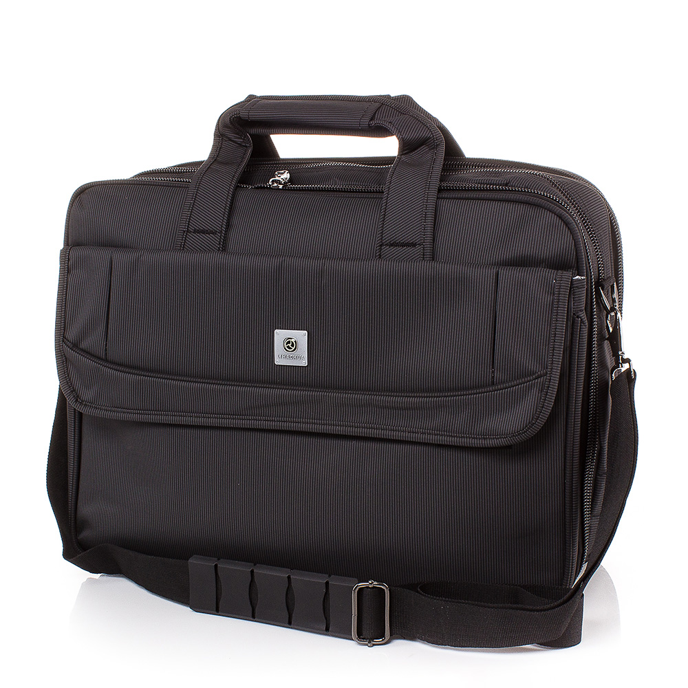 Чанта за документи и лаптоп S3007-08 - Черна