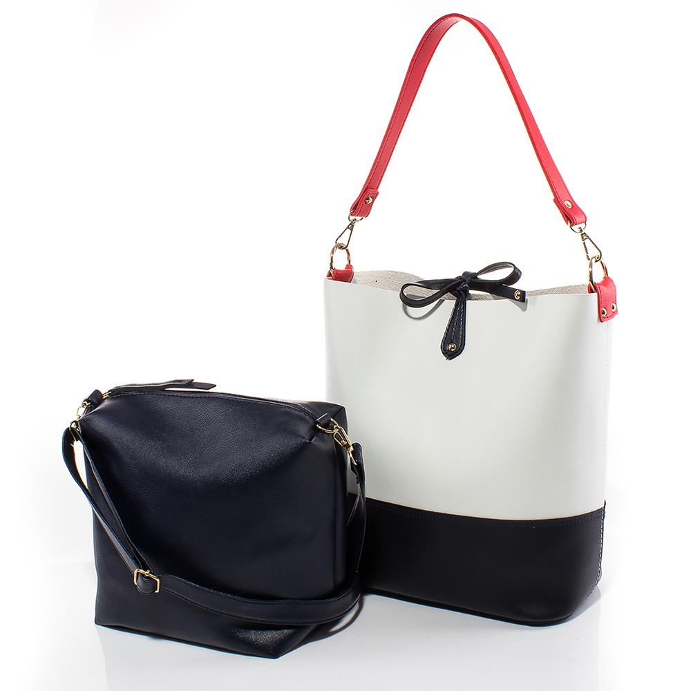 Дамска чанта Кристин 1576-01 - Бяла