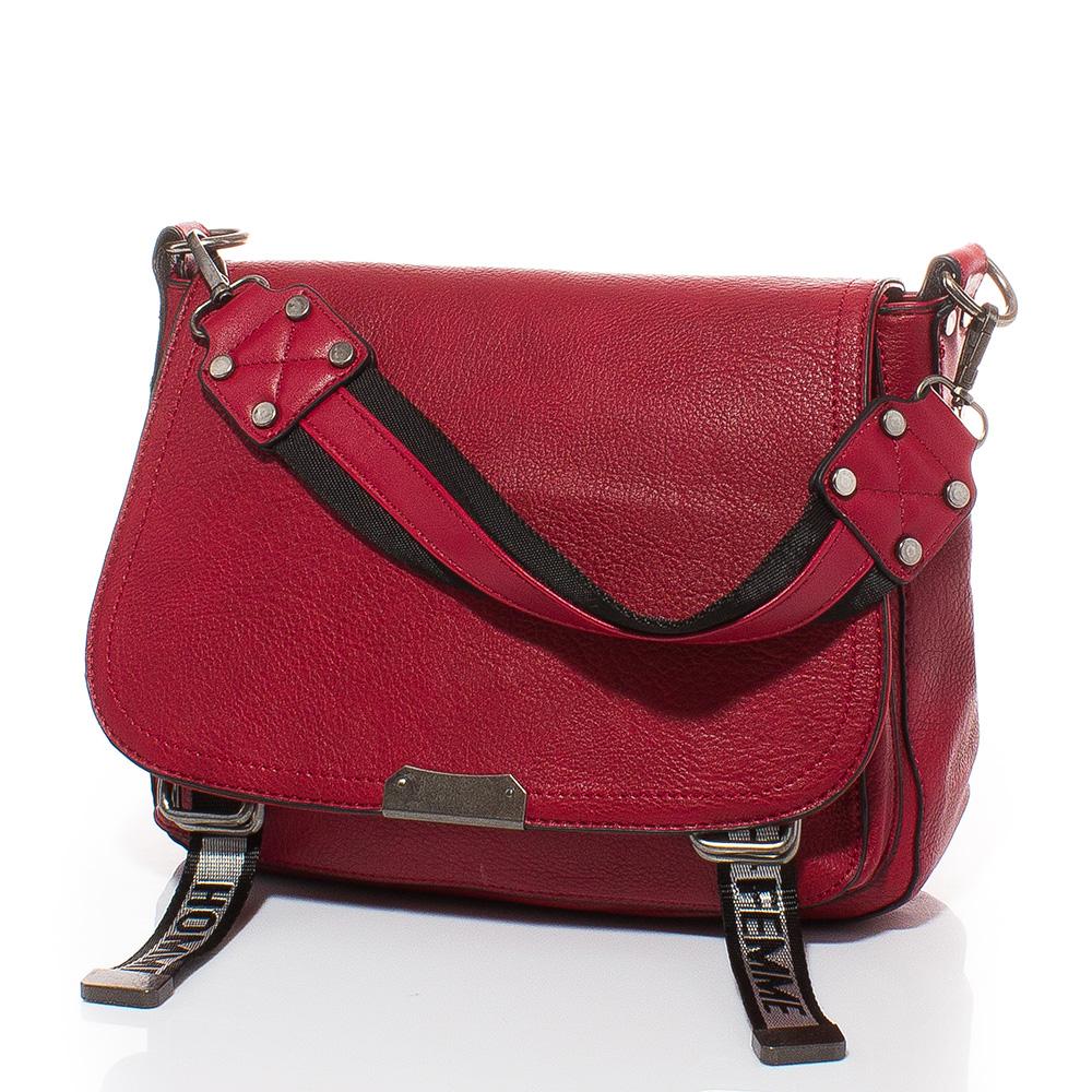 Дамска чанта Елиза 1605-40 - Тъмночервена