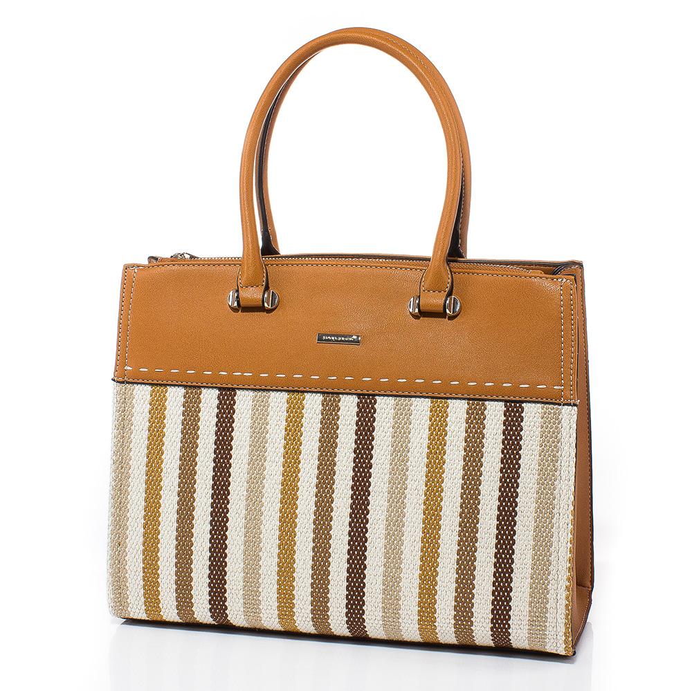 Дамска чанта David Jones CM5212-10 - Камел