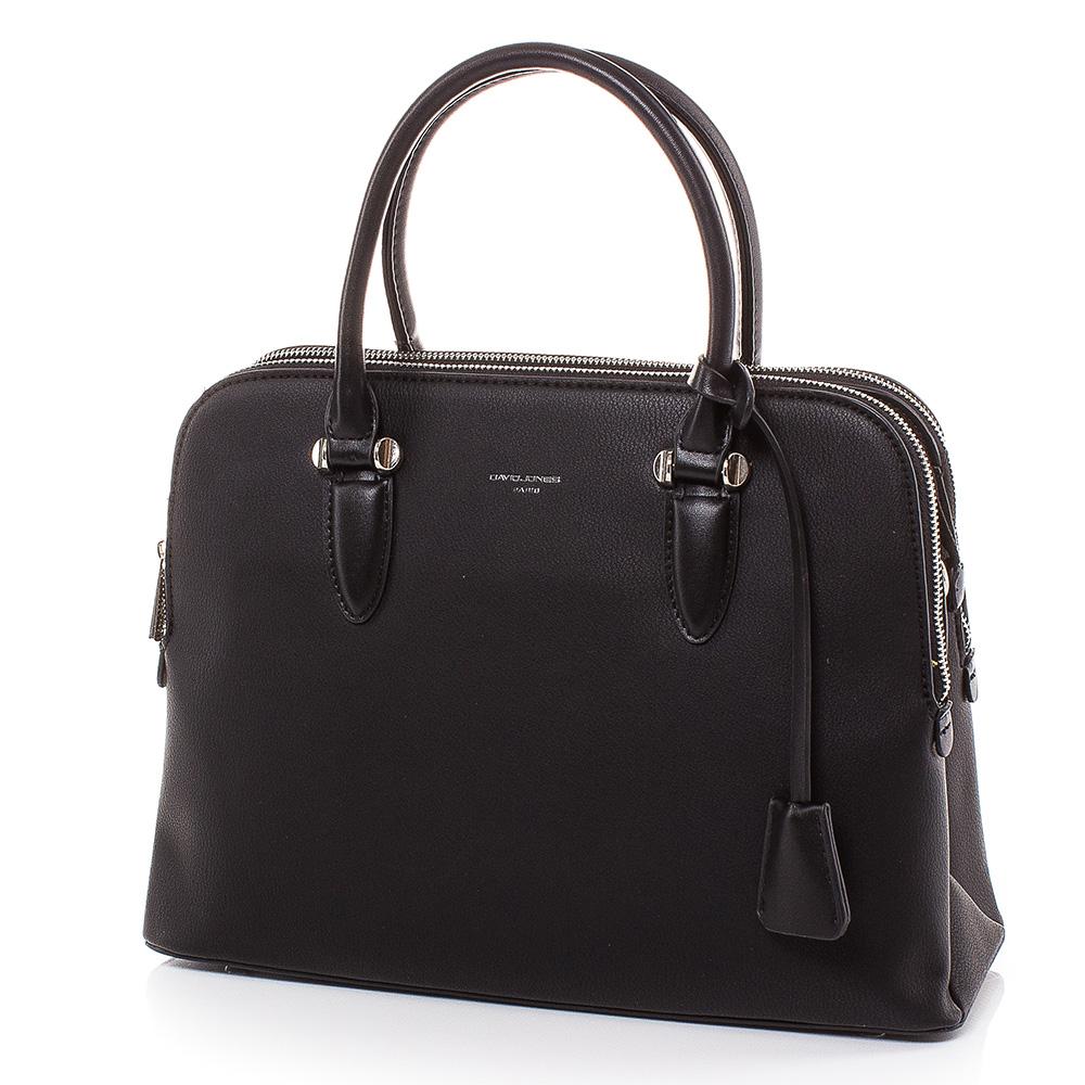 Дамска чанта David Jones 6207-208 - Черна