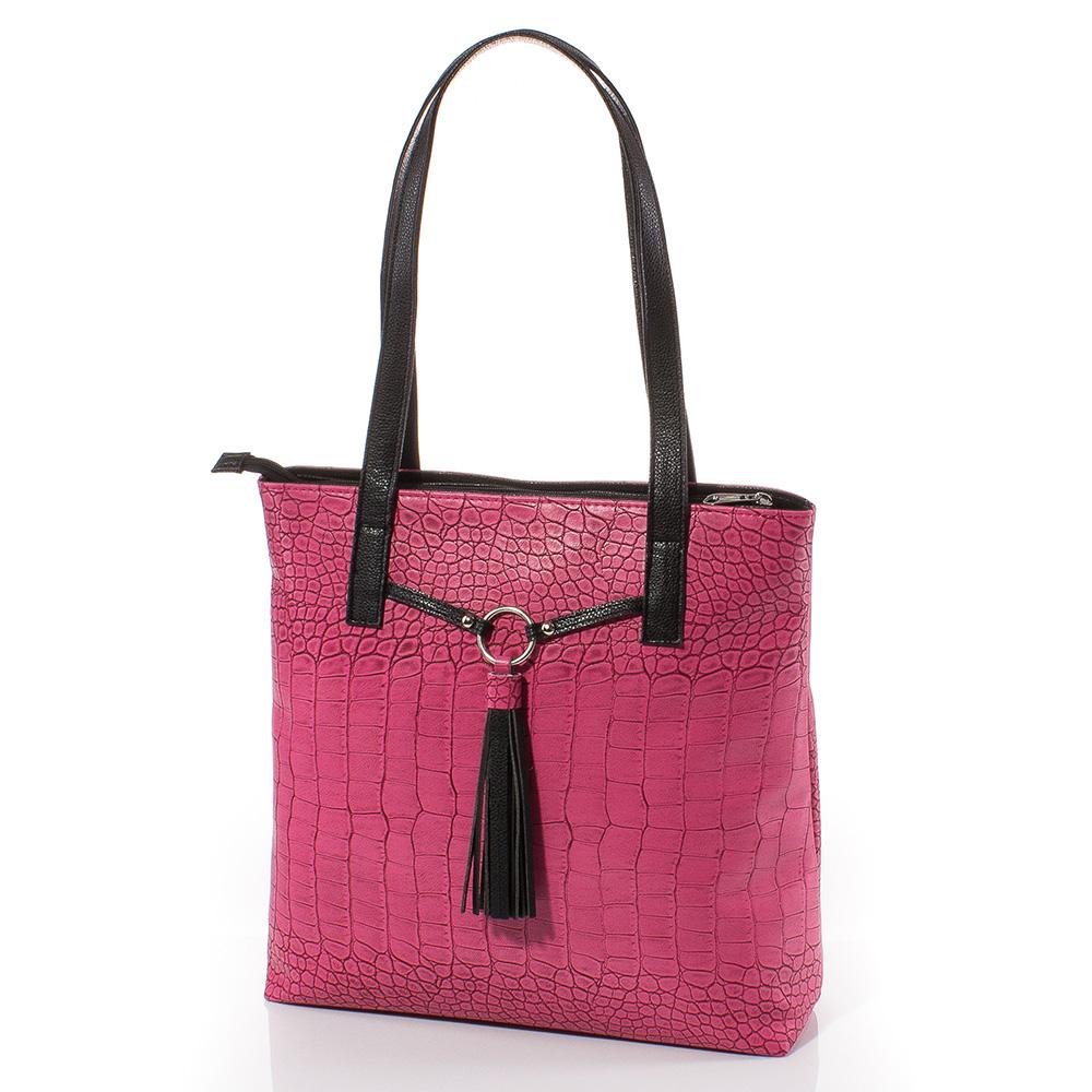 Дамска чанта Дора 1566-17 - Циклама