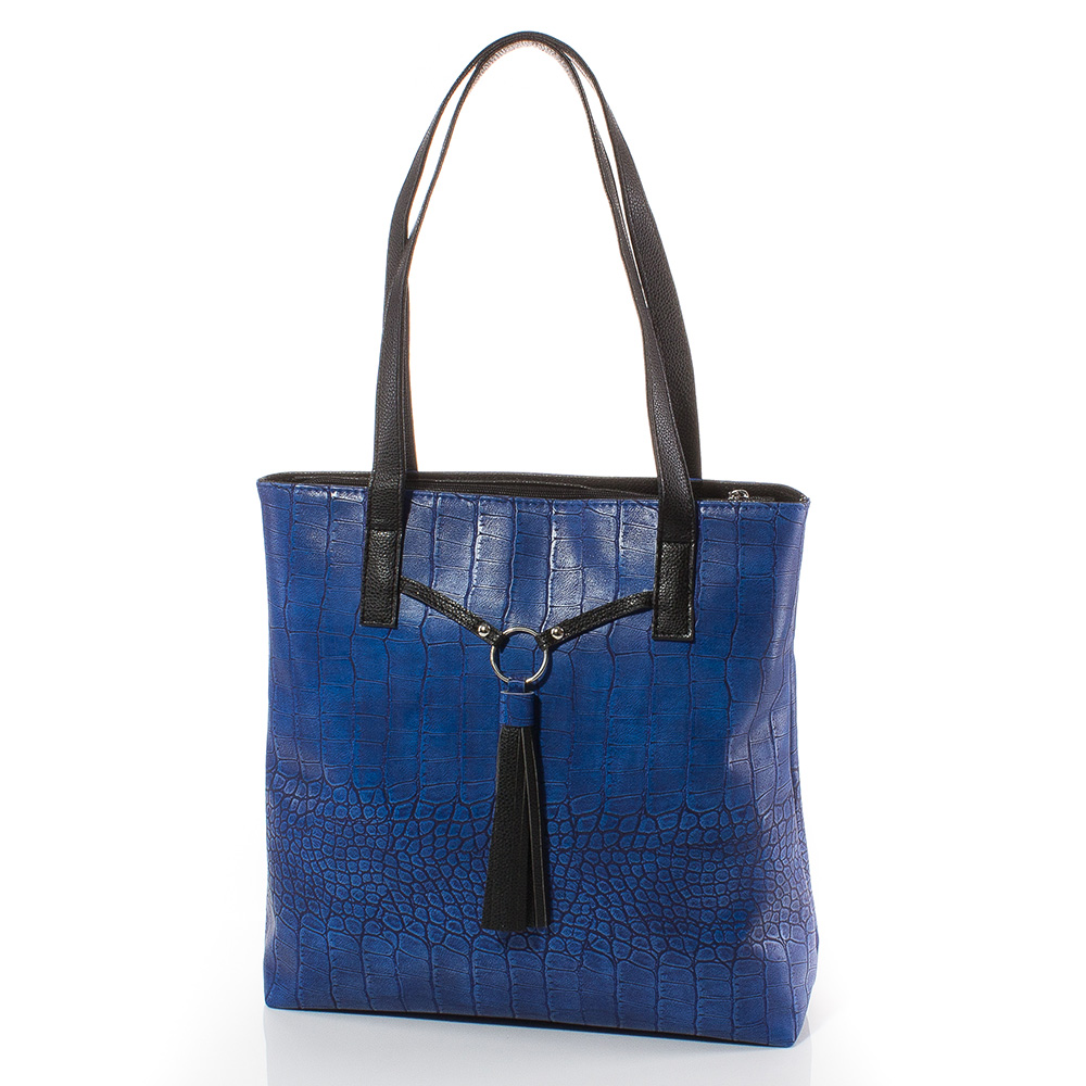 Дамска чанта Дора 1566-24 - Тъмносиня