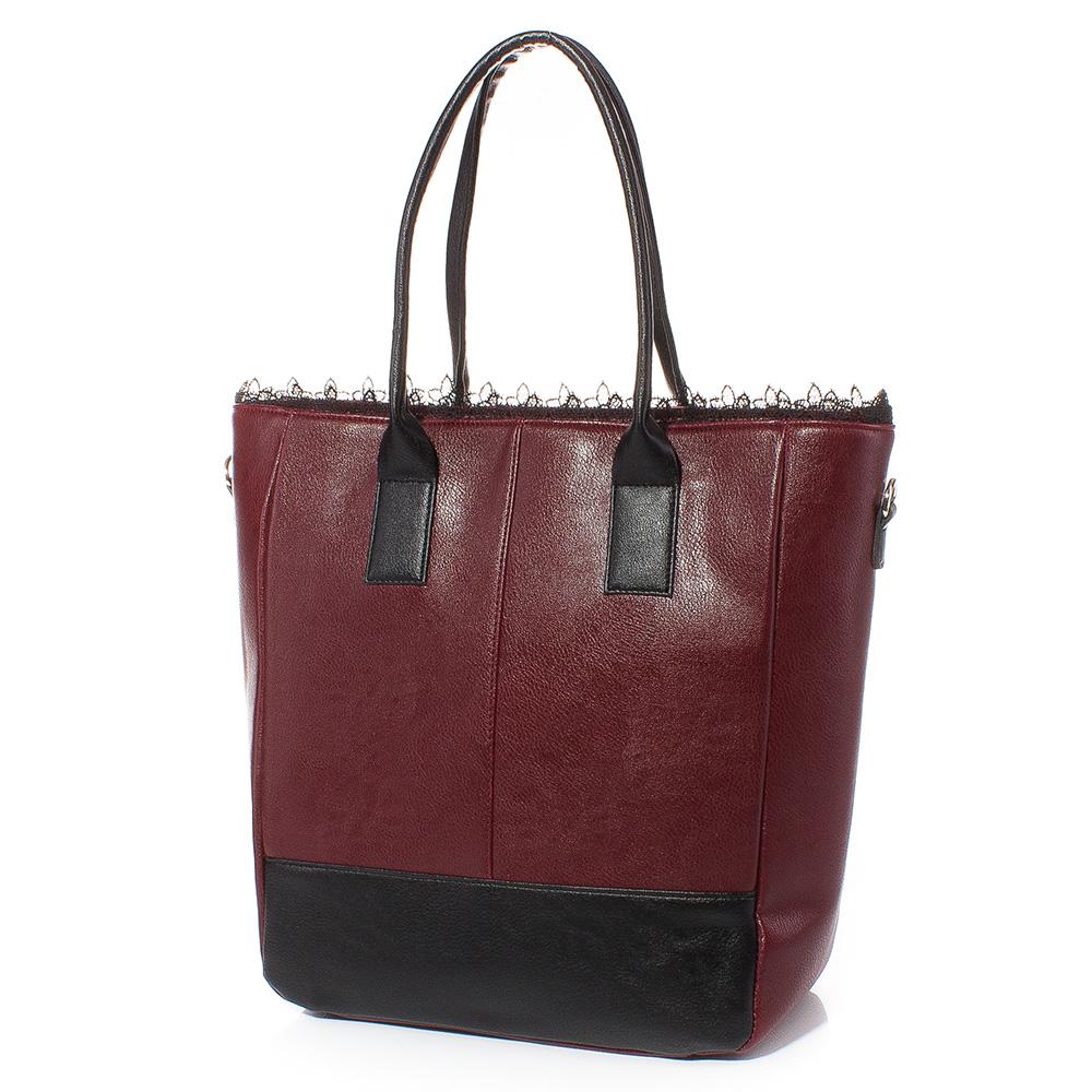 Дамска чанта Таня 1589-23 - Бордо