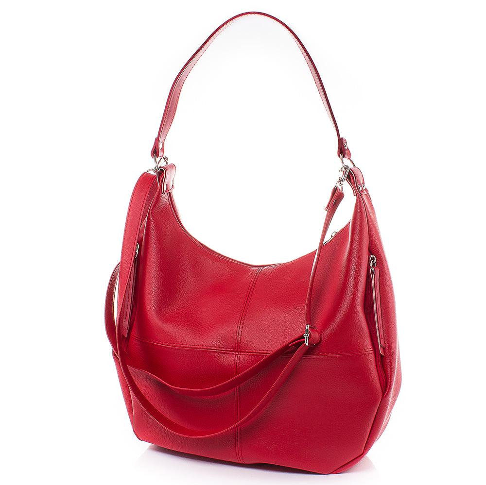 Дамска чанта Жени 1634-05 - Червена