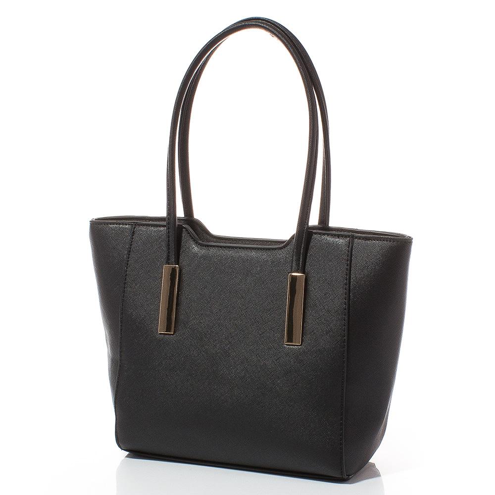 Малка дамска чанта Ваня 1596-08S - Черна