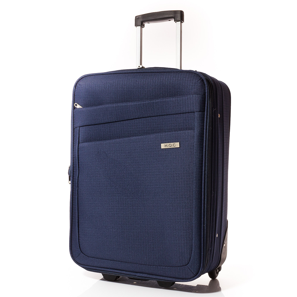 Куфар за ръчен багаж 55/37/18 T1004-24 - Тъмносин