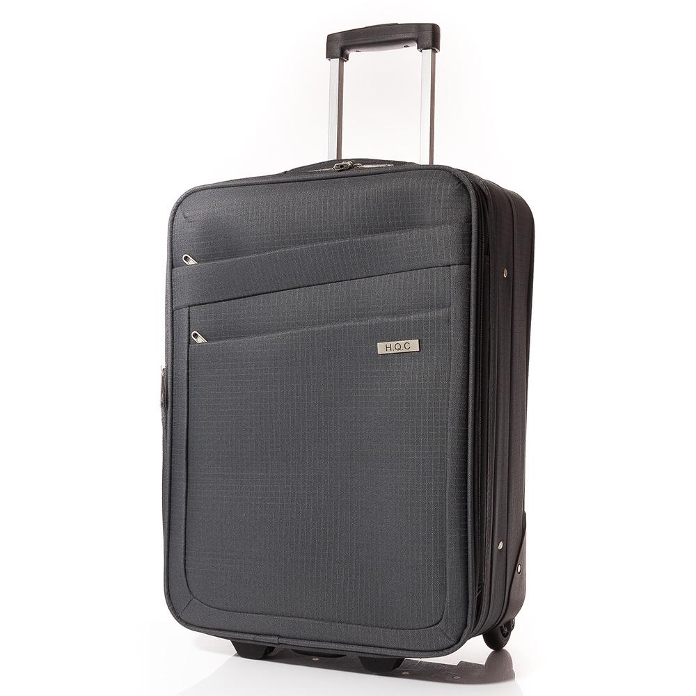 Куфар за ръчен багаж 55/37/18 T1004-34 - Тъмносив