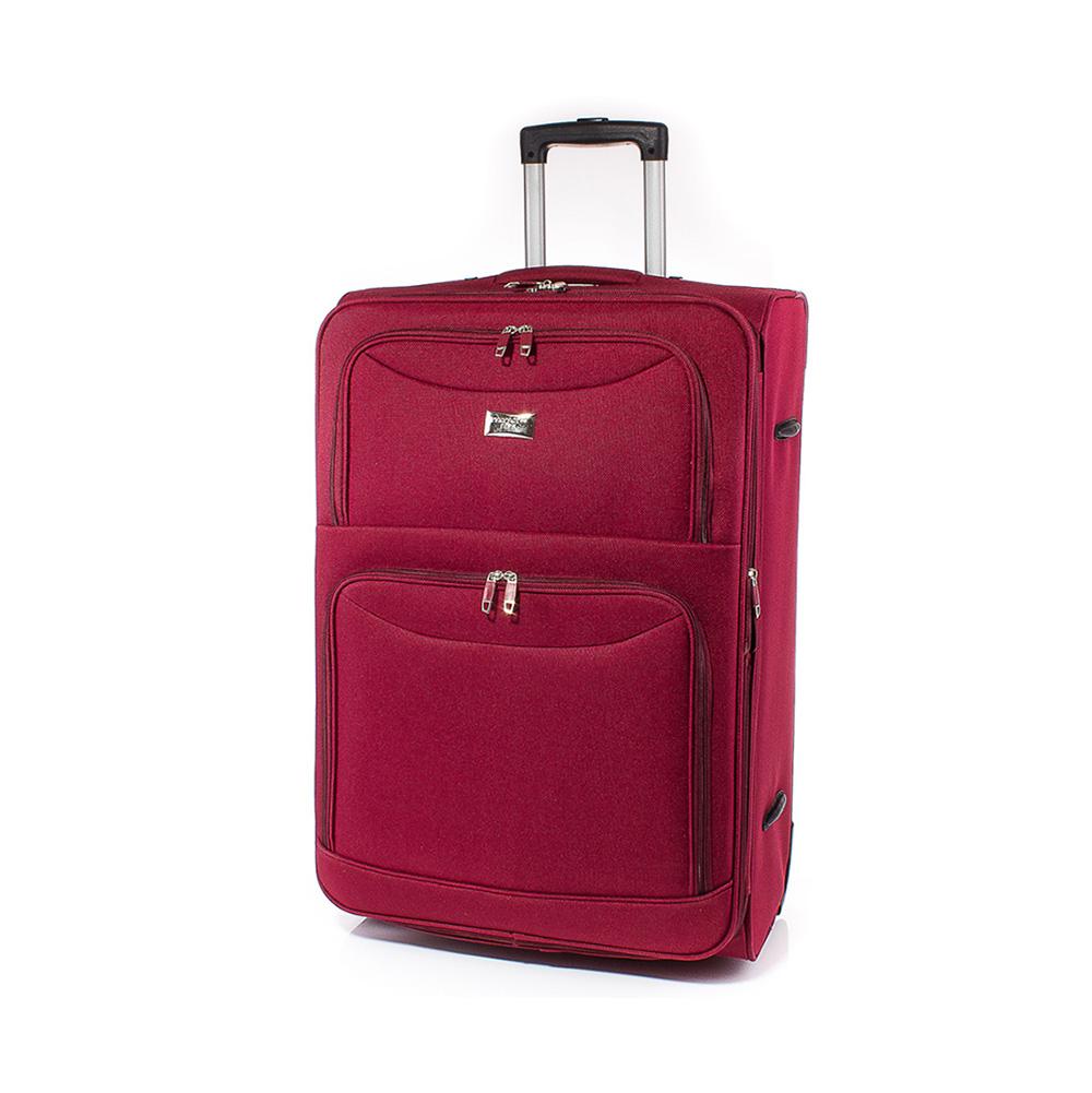 Куфар за ръчен багаж 52/36/21  T1006S-40 - Тъмночервен