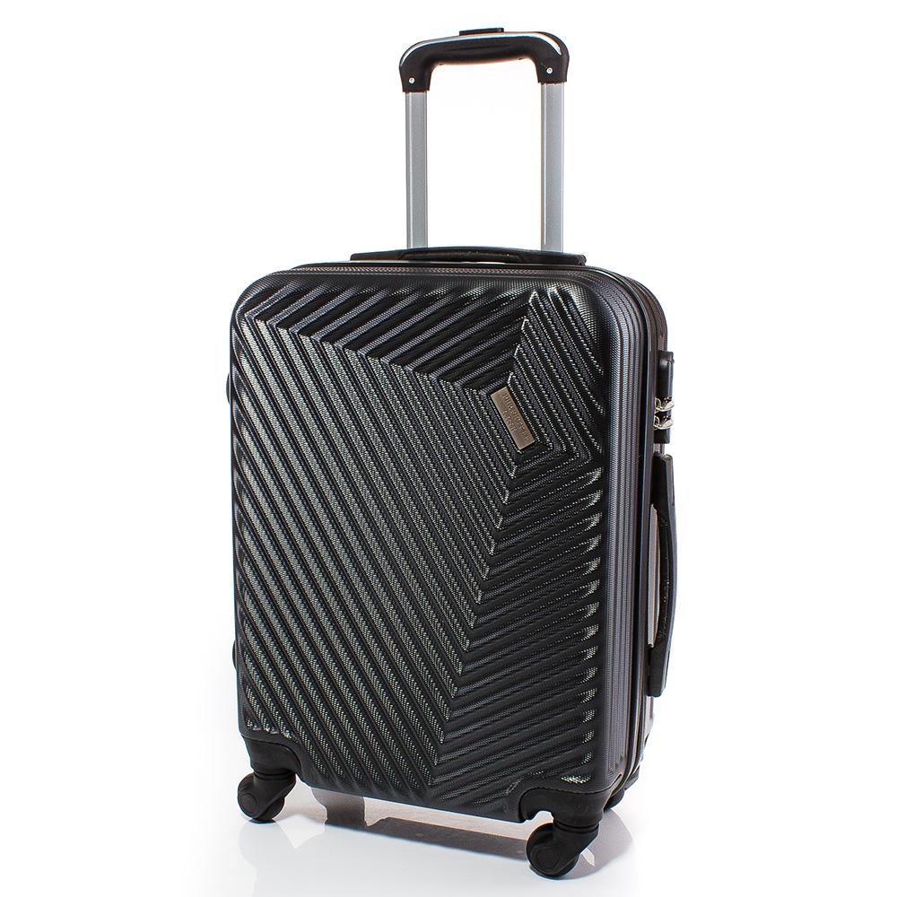 Куфар за ръчен багаж 54/39/20 с колелца 360° T1002-34 - Тъмносив