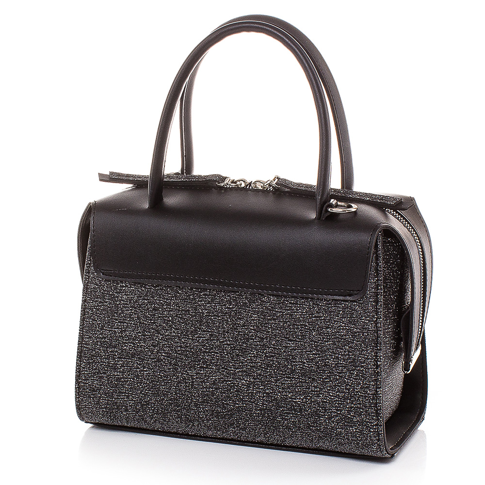 Дамска чанта Инес 1635-47 - Тъмно сребро