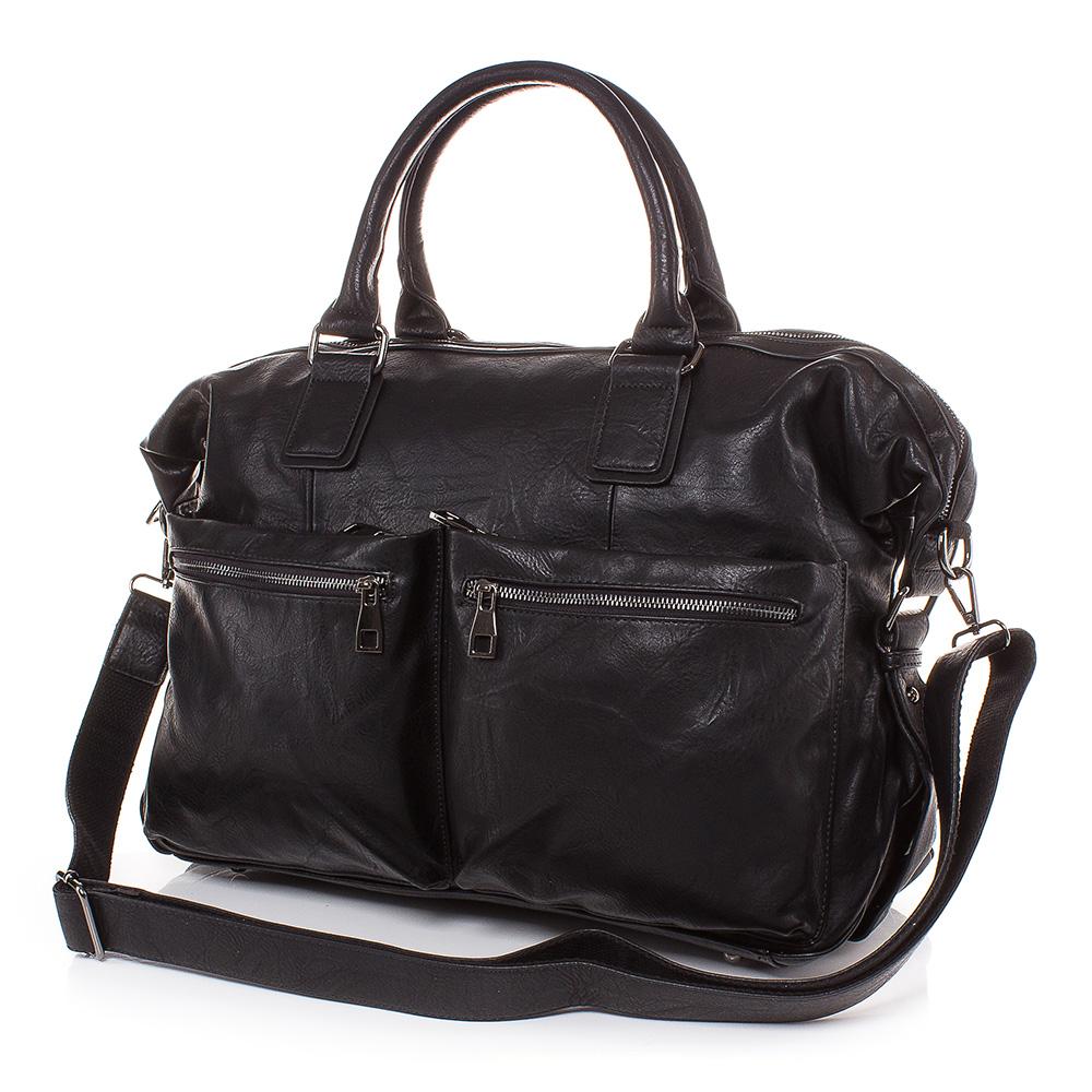 Пътна чанта T3022-08 - Черна