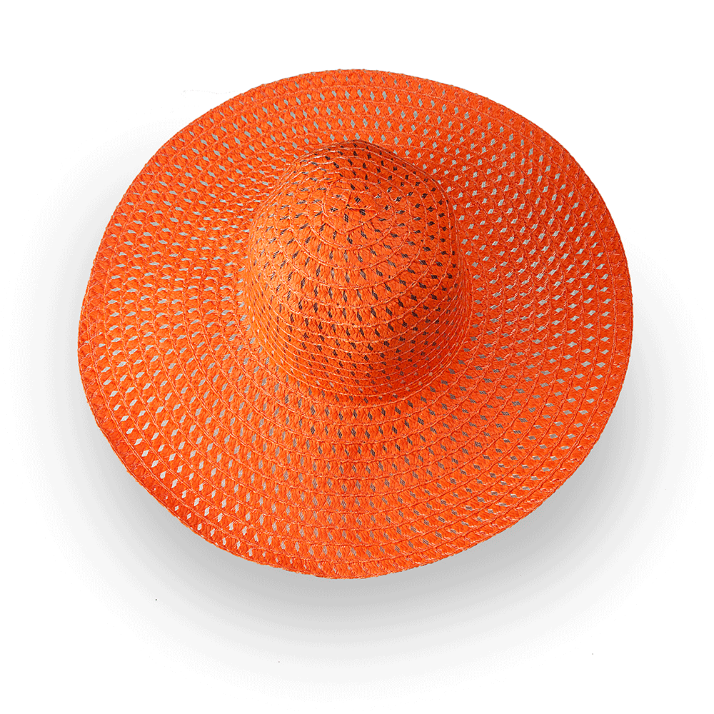 Плажна Шапка Бети H1006-14 - Оранжева
