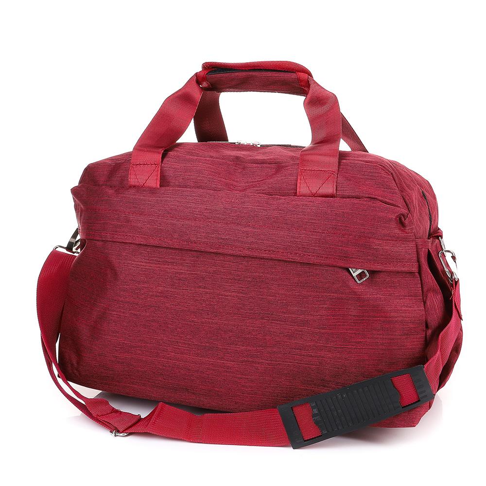 Чанта за ръчен багаж T3034-40 - Тъмночервена
