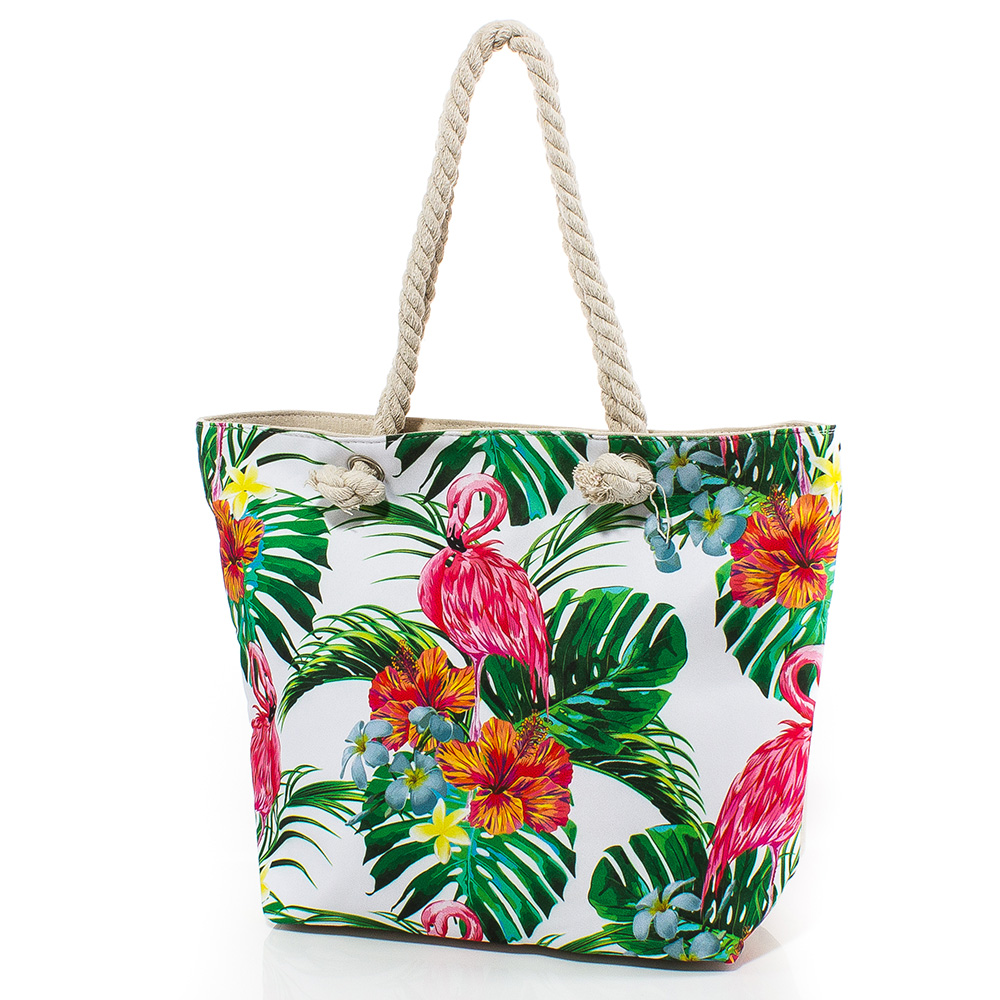 Плажна чанта 5057-00 - Цветна