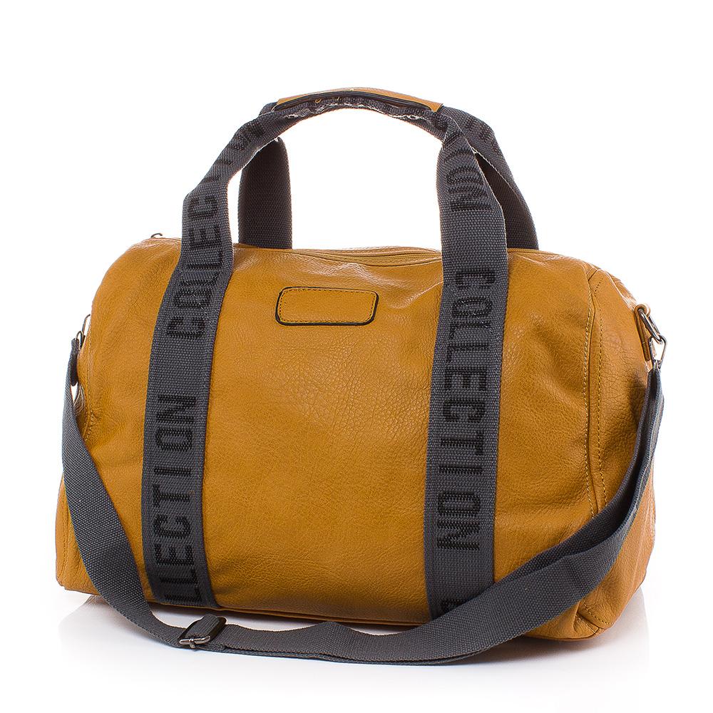 Пътна чанта Голяма T3021-49 - Горчица