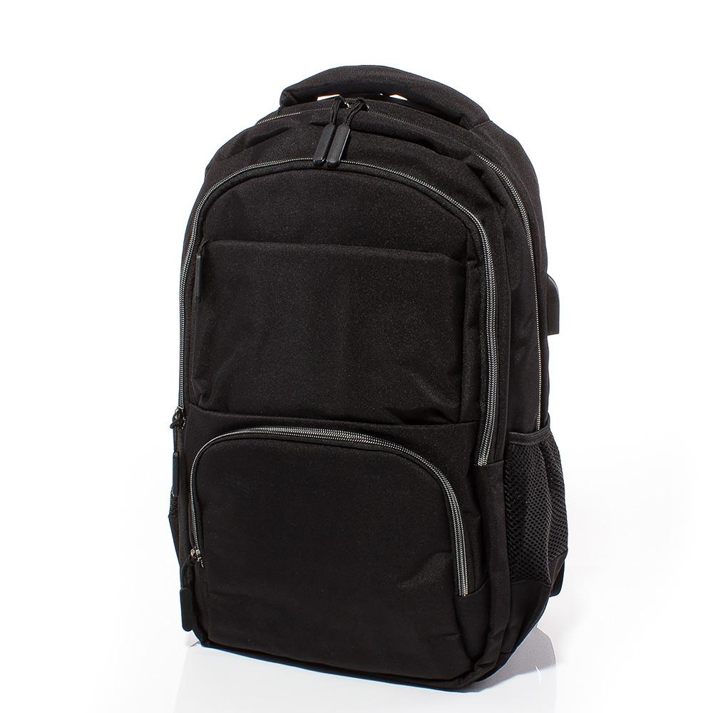 Раница за лаптоп S3004-08 - Черна