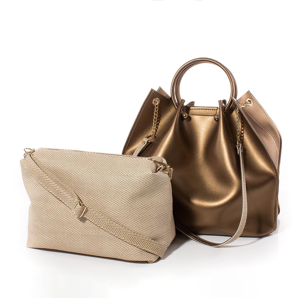 Дамска чанта Дебора 1561-12 - Златиста