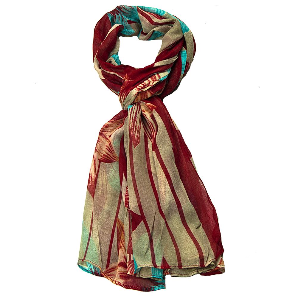 Дамски Шал G1014-23 - Бордо