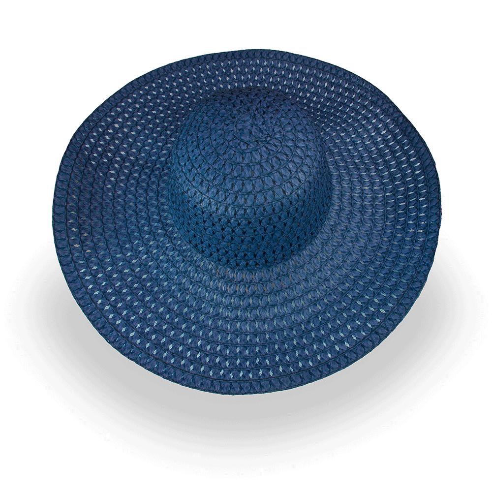 Плажна шапка Бети - Тъмно синя