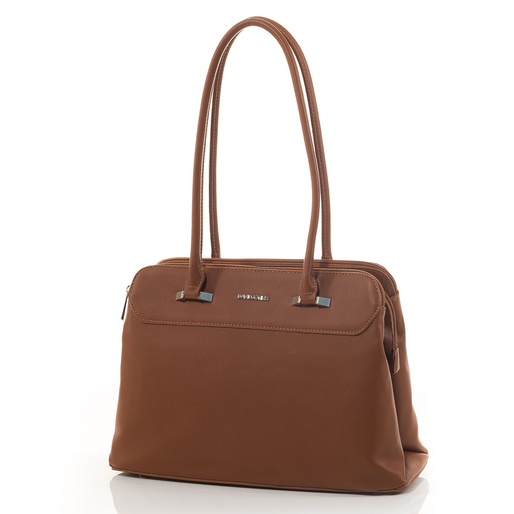 Дамска чанта David Jones 5626-210 - Камел