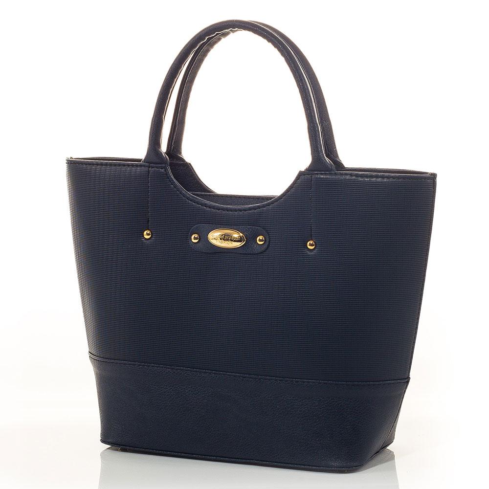 Дамска Чанта Агнес - Тъмно синя
