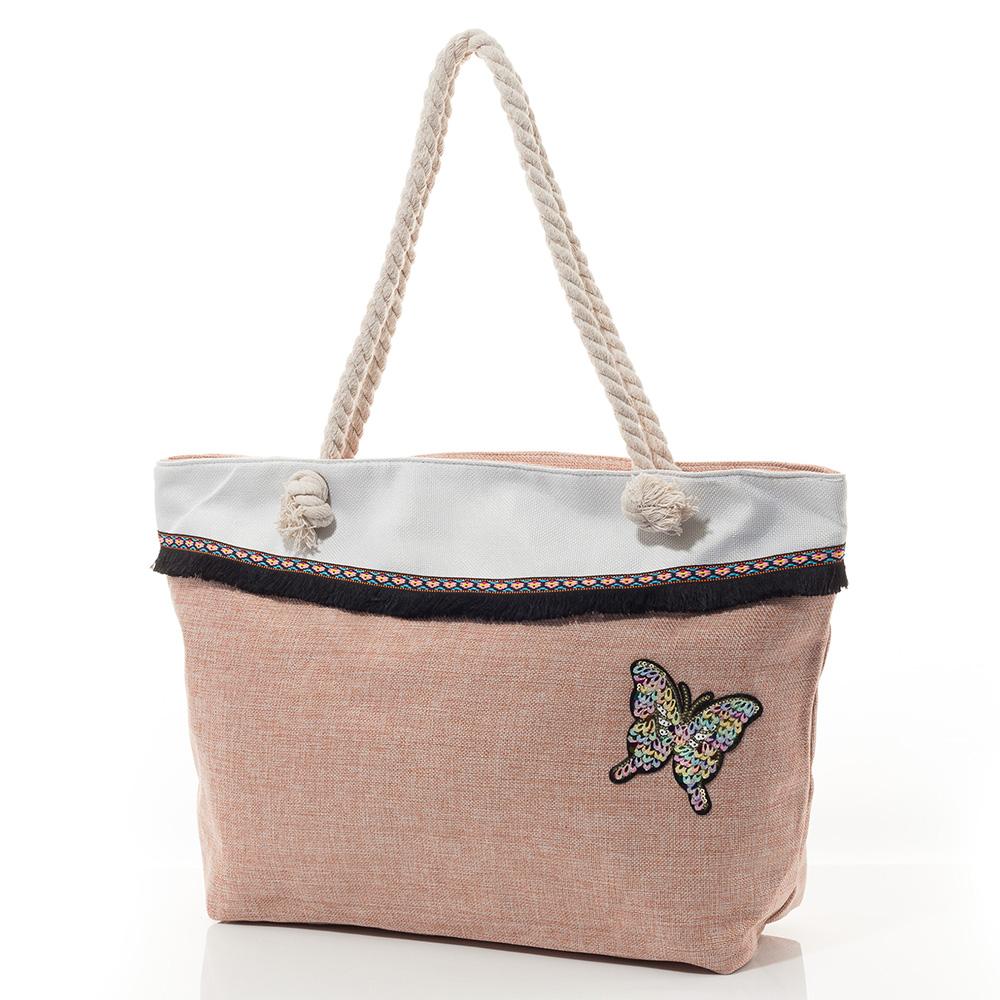 Плажна Чанта 5004-45 - Розова